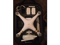 DJI phantom 3 professional (4k footage) with 1 or 2 extra battery