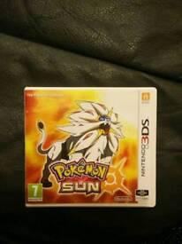 3DS Game Pokemon Sun