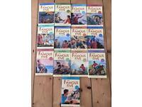 13 Famous Five Books