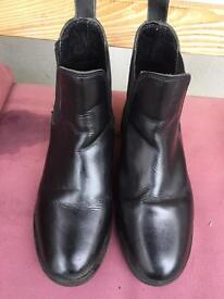 Horse Riding Boots Size 4