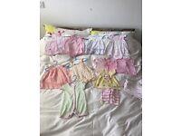 0-3 months Summer girl bundle