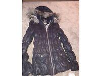 Girls lipsy puffa coat size 12