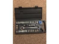 40pc Socket Wrench Set
