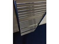 Brand new stainless steel chrome towel heater