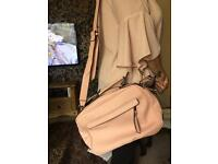New look shoulder bag pink