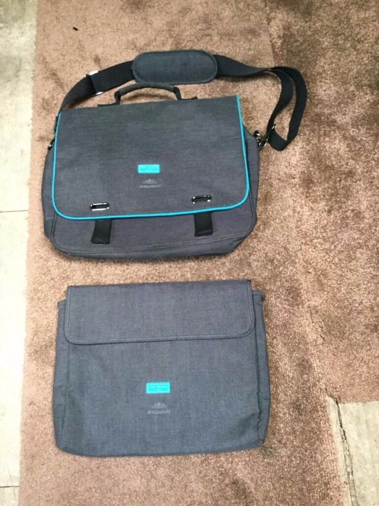 Ted Baker Bodywear Messenger Bag And Laptop Sleeve