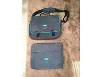 Ted Baker Bodywear messenger bag and laptop sleeve