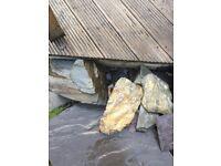 Pond rocks & rockery rocks