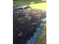 Rubber chippings for play area - Free for uplift
