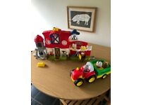 Little people farm and tractor sets