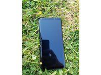 samsung s8 plus 64 GB in black unlocked