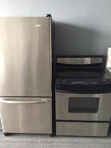 4 ELECTROMENAGER FRIGO CUISINIERE Laveuse Secheuse Frontale Frontload Fridge Stove Washer Dryer