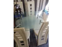 Well used table and 4 chairs FREE