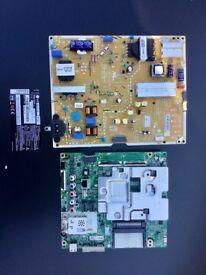 LG 55 UJ670V PSU/Mainboard,remote control/stand