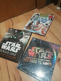 Star Wars Books, As New