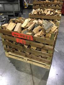 Dry seasoned firewood / logs / kindling