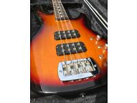 G&L L-2000 Tribute Bass Guitar Active and passive With Hard Case