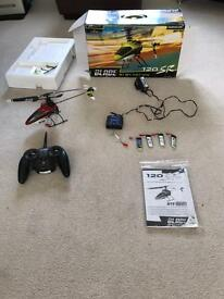 Blade 120 sr rc helicopter