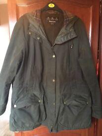 Genuine Ladies fleece lined wax coat