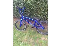 2016 total Bmx baldock bike blue