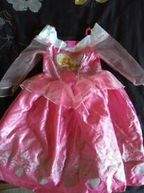 Disney Princess Sleeping Beauty dress - Age 3-4yrs - Used, good condition