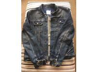 All Saints Men's Denim Jacket Large