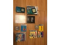Gameboy colour boxed 2 games