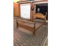 Kingsize bed frame double divan bed base