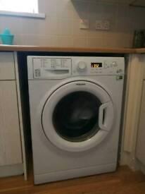 Washing machine. Hotpoint 8 kg.
