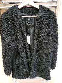 Black Fluffy Jacket