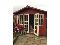 Summer House with windows - 10ft x 10ft