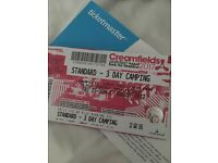 Creamfields Ticket for sale