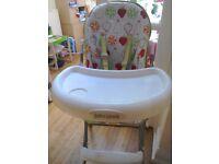 John Lewis unisex high chair