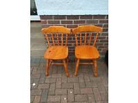 Pine Chairs (FREE)