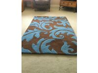 Large 100% wool rug for sale