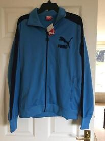New Puma heroes track jacket large