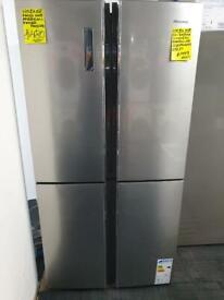 Ex display hisense four door fridge freezer