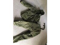 Carp fishing winter suit