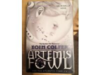 Artemis Fowl and the Atlantis Complex - folied great as a child gift