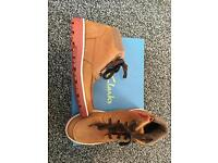 BRAND NEW Boys ankle boots 13F Clarks