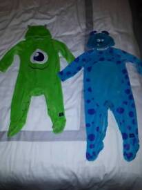 Disney Monsters Inc baby outfits