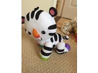 Fisher-Price Touch 'n Crawl Zebra