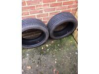 2 run flat tyres
