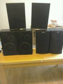Cheap speakers for sale(parties ?)