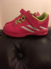 Adidas Kids Indoor Football Boots. Size 8