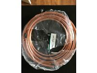 """3/8"""" Lawton Copper Pipe for Refrigeration / AC - Approx 7m in length"""