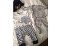 50+ newborn to 6 months bundle, excellent condition. Next, Gap, H&M
