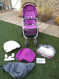 Britax Affinity pushchair with EXTRAS!