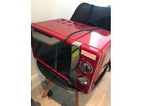 Microwave Russell Hobbs RHMM701R 17L Manual 700w Solo Microwave Red