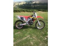 Crf 450 road legal 2011 efi